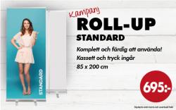 Roll-up kampanjpris